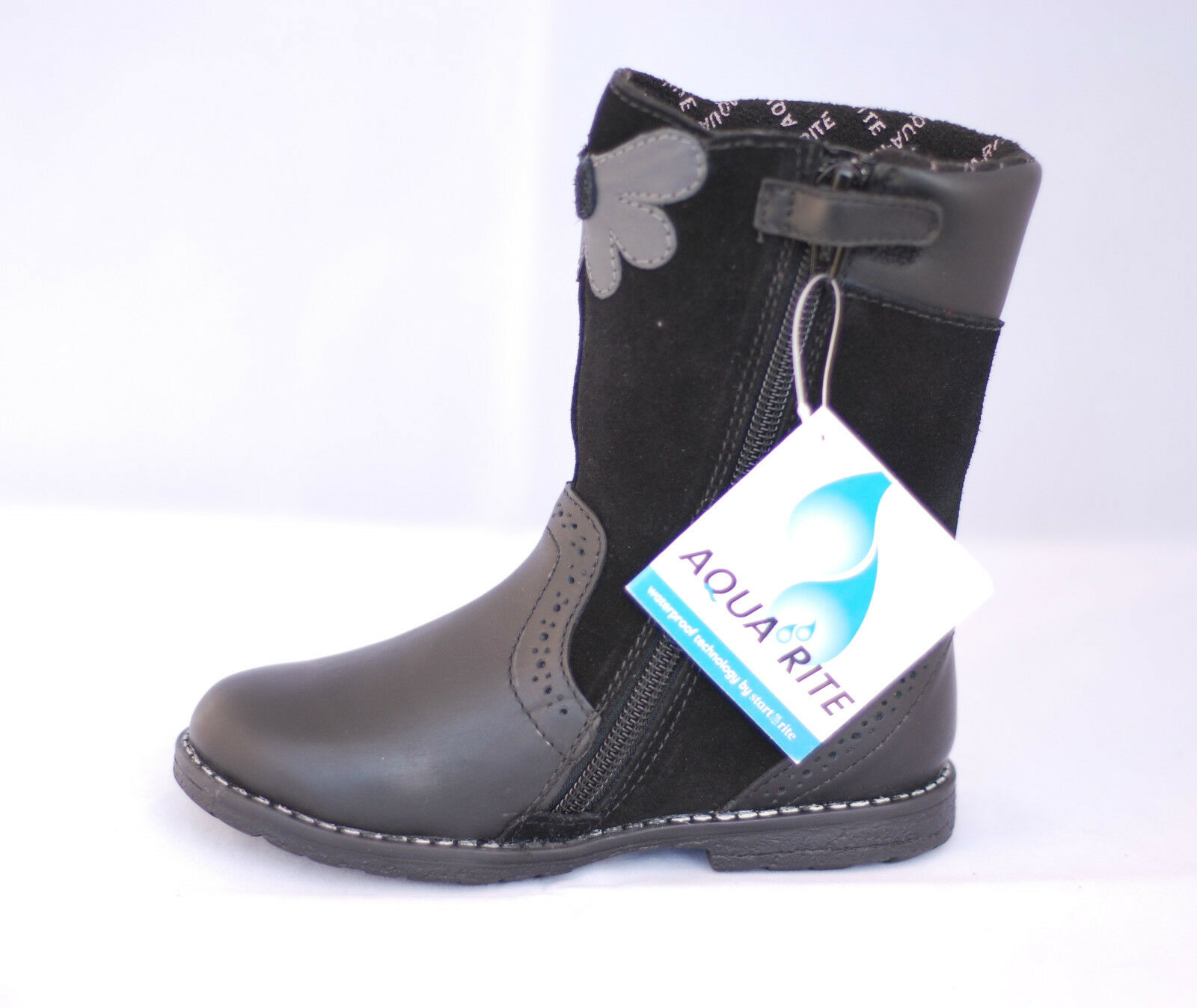 Start-rite Aqua Bow Girls/' Boots Brown 60/% OFF RRP