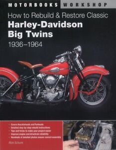 Details about How to Rebuild Restore Harley-Davidson Panhead Knucklehead  1936-1964 Big Twins