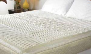 Queen Foam Mattress Topper Pad Hypoallergenic Back Support Firm