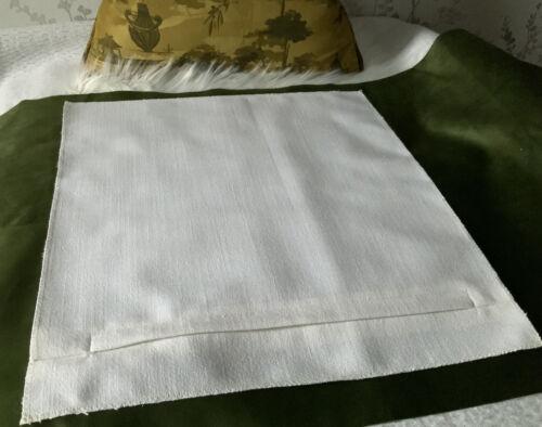 18 X 18 Coussin Panneau arrière avec superposition Zip Parfait Pour Craft Cross stitch