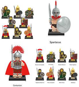 Ancien Empire Romain Gladiateur Mini Figure Nouveau Vendeur Britannique S'adapte Major Brand Blocks-afficher Le Titre D'origine Geftzg0t-07173516-673169971