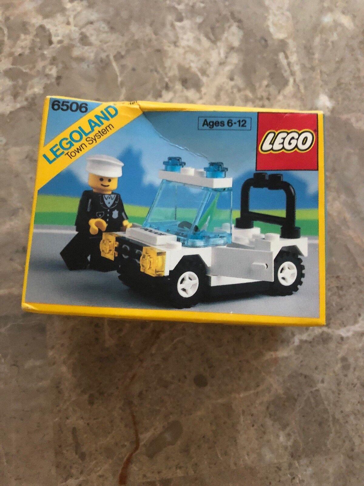 Lego legoland Town Syatem  6506 Precinct Cruiser 1989 NIB RARE Vintage