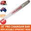 thumbnail 2 - 28-034-PRO-CHAINSAW-BAR-AND-1-CHAIN-3-8-058-92DL-FOR-Baumr-AG-SX92-92CC