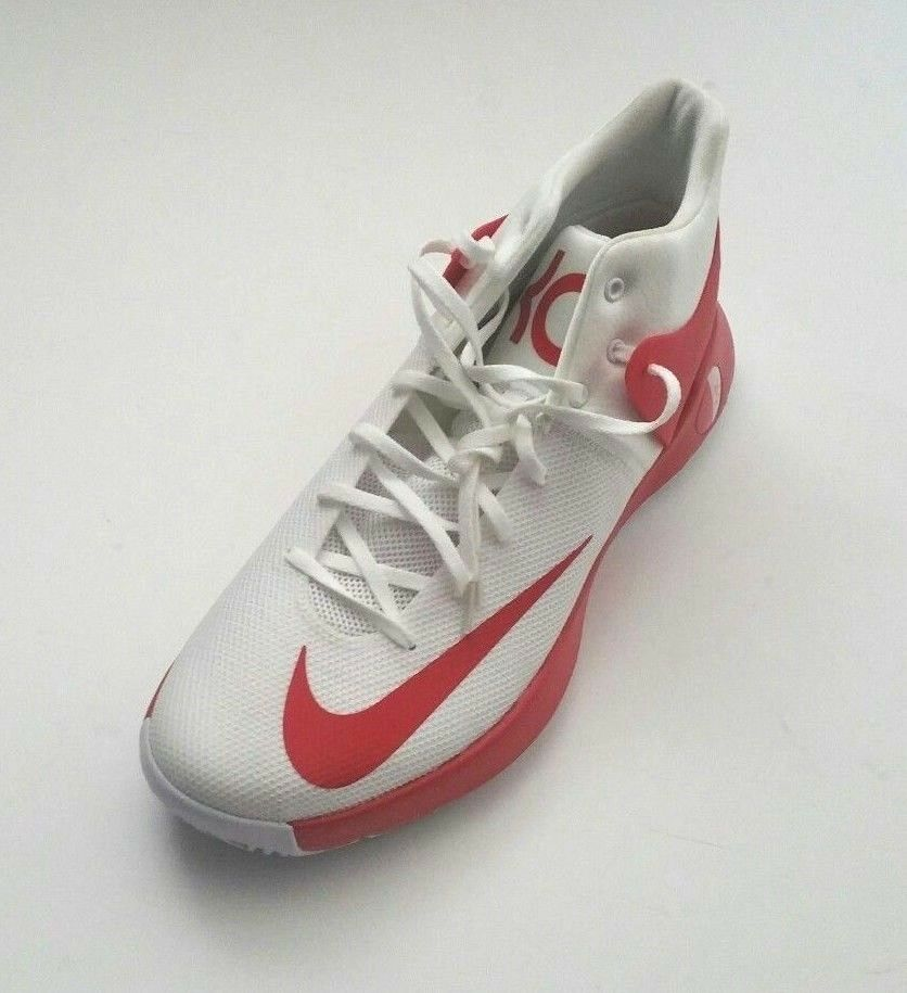 Nike hommes 856484-161 Zoom KD Trey 5 IV Basketball Chaussures blanc/ rouge