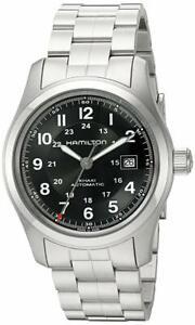 Hamilton H70515137 Khaki Pilot Stainless Steel Black Dial 42mm Watch by Hamilton