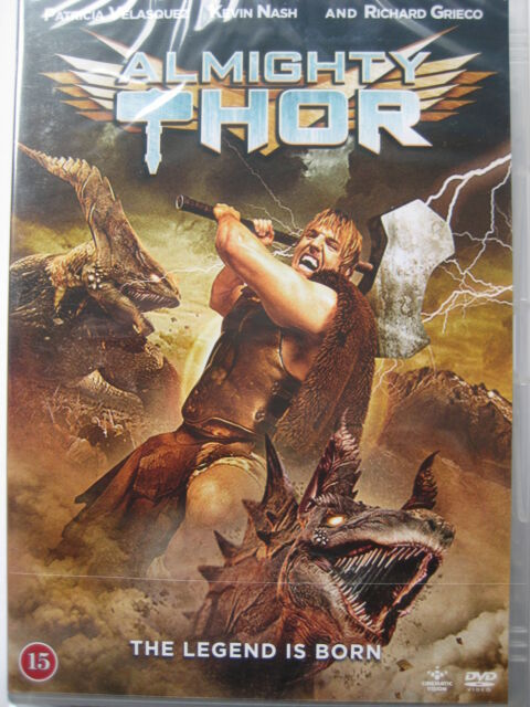 Almighty Thor (DVD, 2011) NEW SEALED (Nordic Packaging) Region 2 PAL