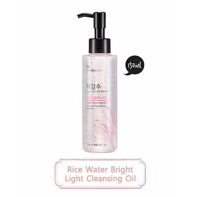THE FACE SHOP / Rice Water Bright Cleansing Light Oil 150ml / Free Gift / Korean