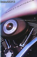 Harley Davidson 1999 Motorcycle Full Line Up Brochure