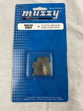 LOT Muzzy Practice Blades for 2 /& 4 Blade Broadheads 115 gr and up #315