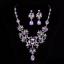 Women-Fashion-Bib-Choker-Chunk-Crystal-Statement-Necklace-Wedding-Jewelry-Set thumbnail 33