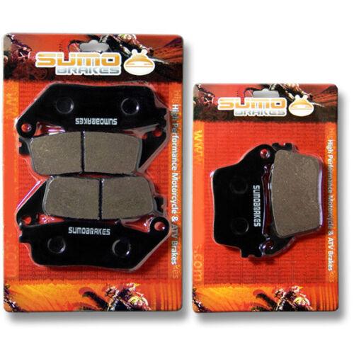 Honda F+R Brake Pads CB 600 NO ABS Hornet 2007 2008 2009 2010 Only F7//F8//F9//FA