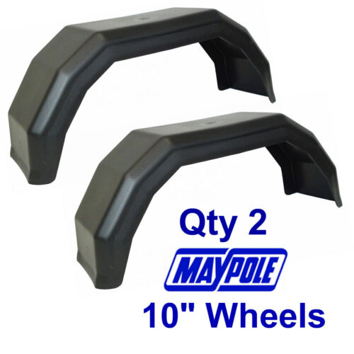 "Maypole 2 x 10/"" Mudguards MP266 Trailer and Towing Accessories"
