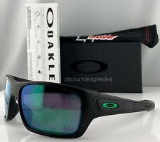 Oakley Turbine Moto GP Sunglasses Matte Black Jade Iridium Lenses Oo9263-15
