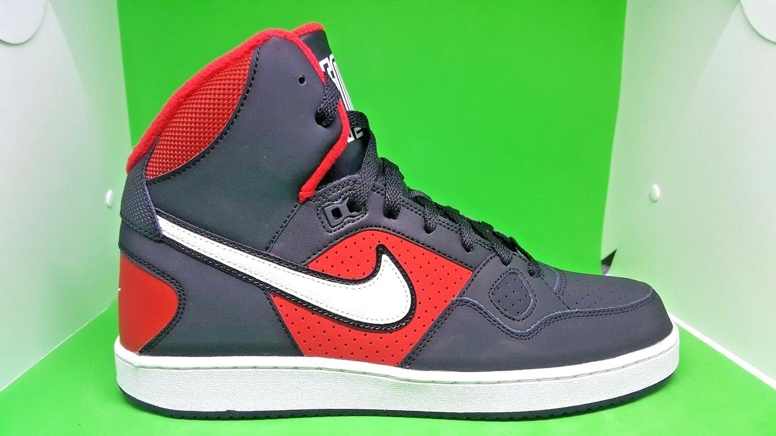 Nike Son Of Force Basketball Shoes University  Red Black White 616281-018