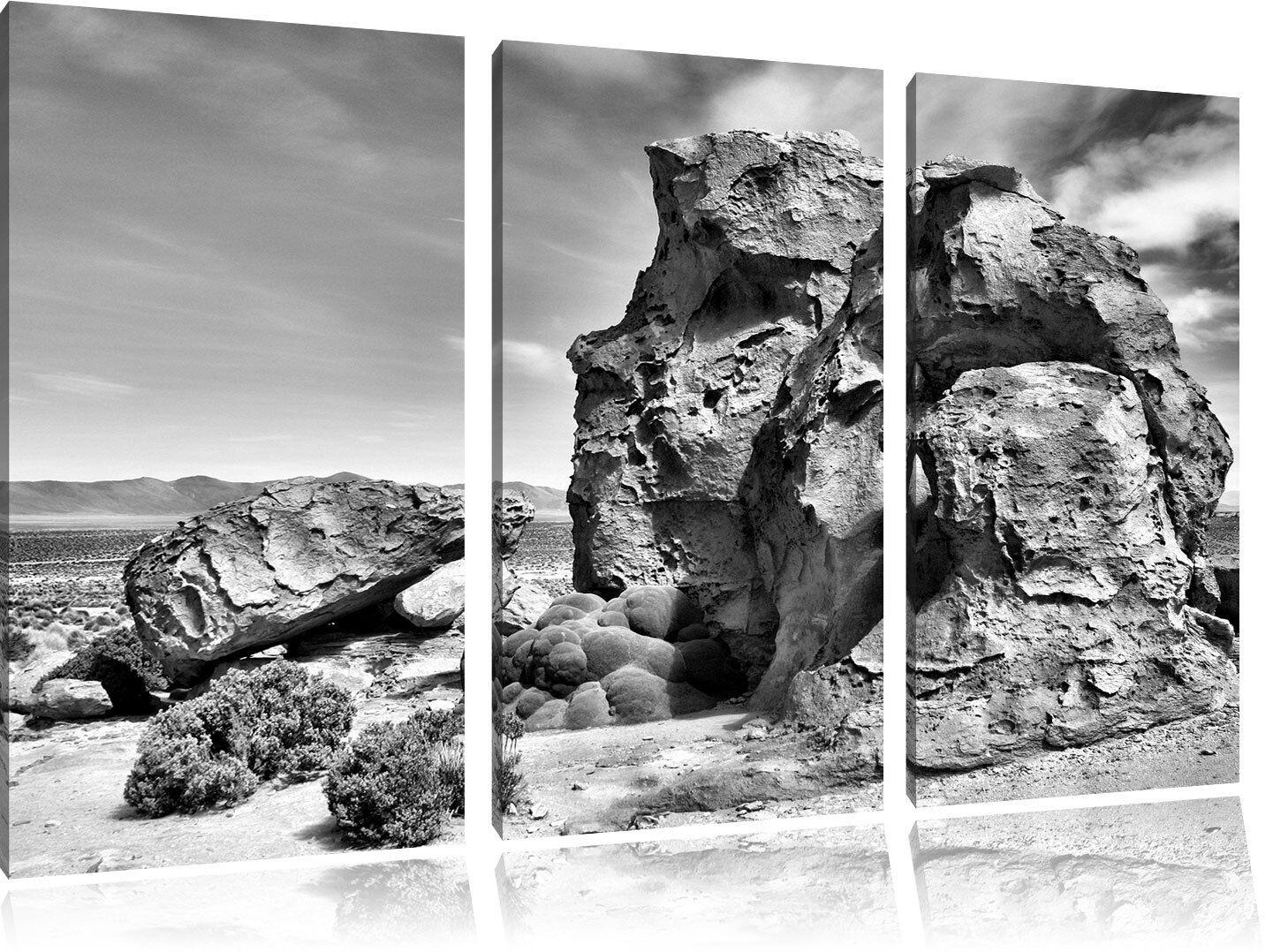Masso in deserto 3-Divisorio Tela Decorazione stampa stampa stampa d'arte c02c88