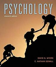 Psychology by David G. Myers and C. Nathan DeWall (2015, Hardcover, Revised)