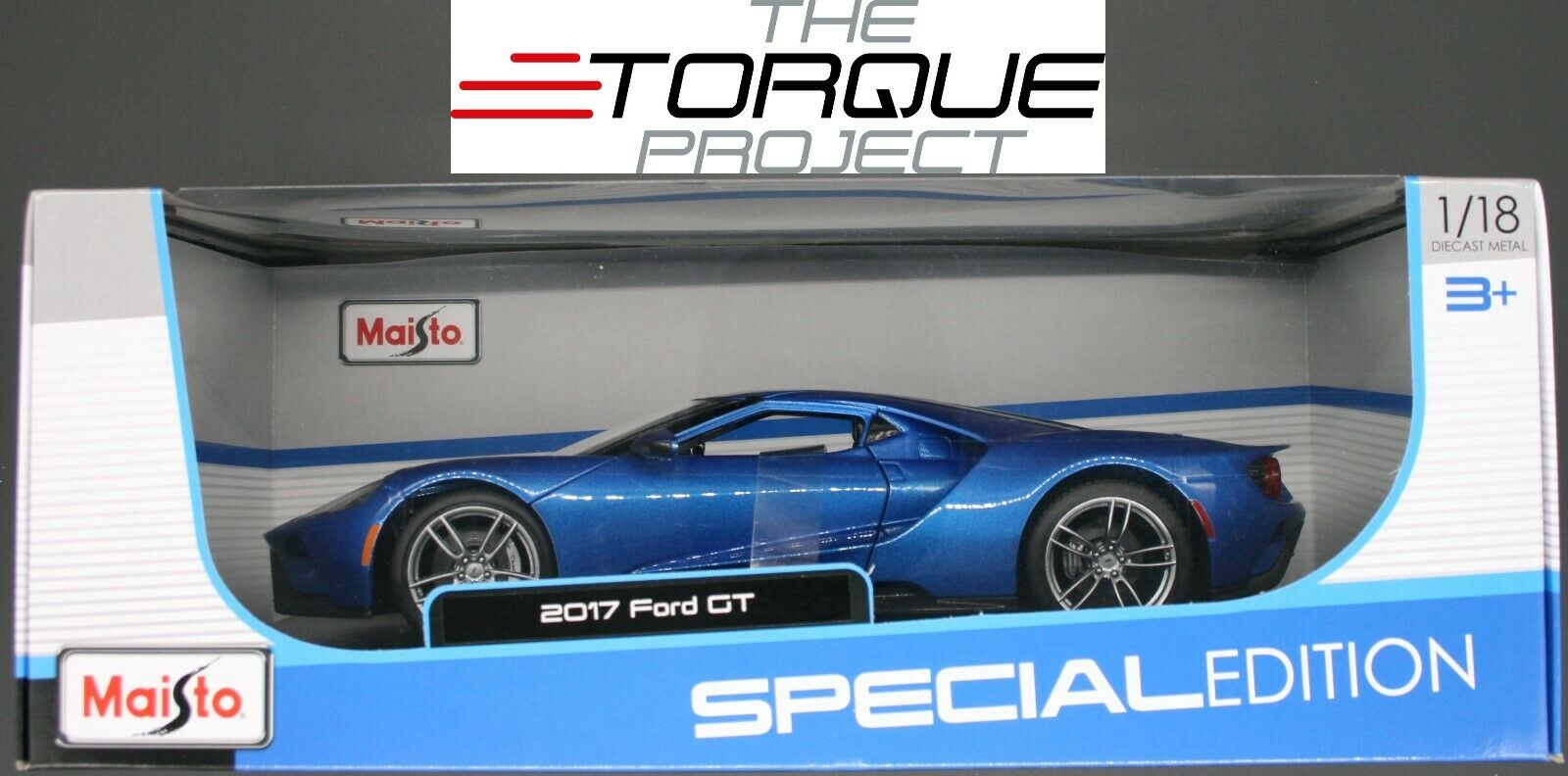 Ford GT 2017 1 18 By Maisto