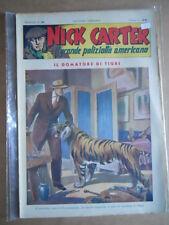 Nick Carter Il Grande poliziotto americano Anni 40 n°98 ed. NERBINI  [G369]