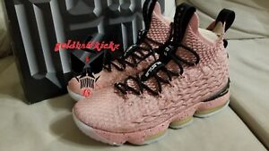 8c580ce761b Nike Lebron XV LMTD HOLLYWOOD ALL STAR 2018 LA RUST PINK gold 897650 ...