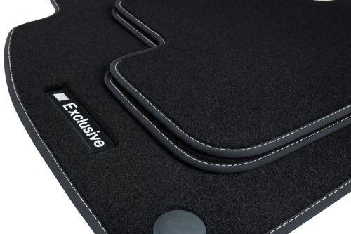 09//2015 Exclusive-Sport Fußmatten für Mercedes GLC Typ X253 ab Bj