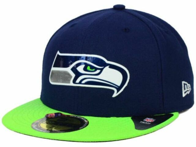 Official 2015 NFL Draft Seattle Seahawks New Era 59FIFTY On Stage Fitted Hat 9e011b71f52