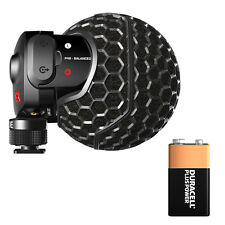 Rode Stereo VideoMic X SVMX with Free 9V Battery!