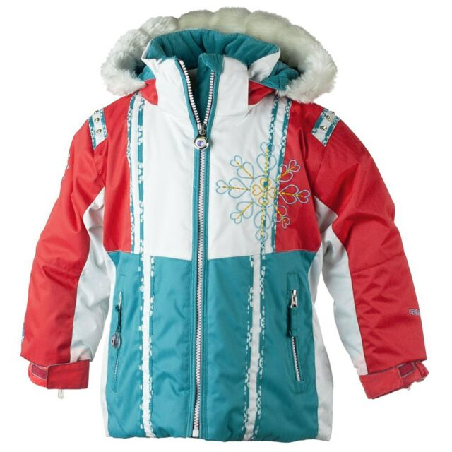 7783a38a0 Authentic Obermeyer Sunrise Insulated Ski Jacket Little Girl s Size ...