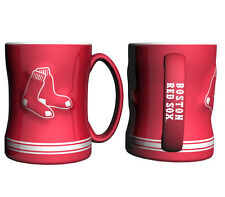 Boston Red Sox Red Coffee Mug - 15oz Sculpted [NEW] Tea Warm Microwave Cup CDG