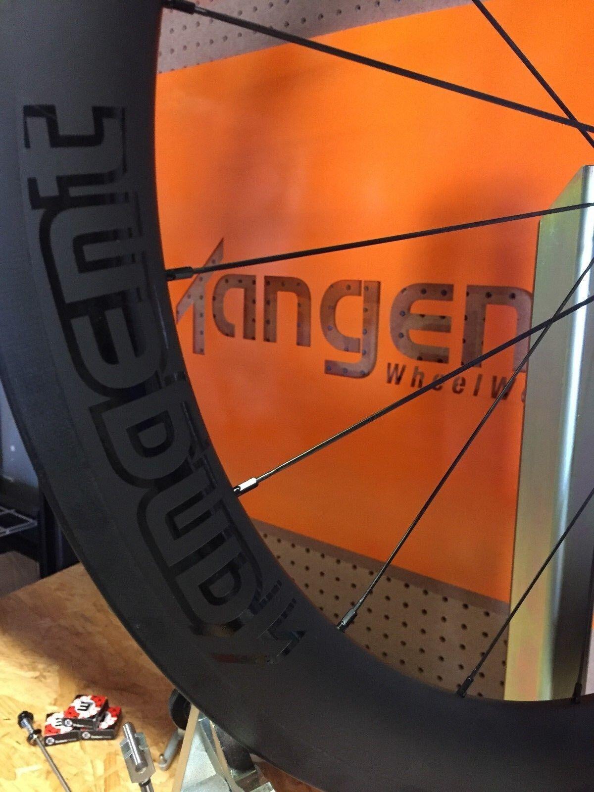 Tangent KOM.56 Carbon Tubeless Ready Wheelset 56mm