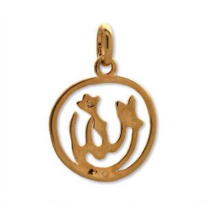 Pendentif plaqué or Allah