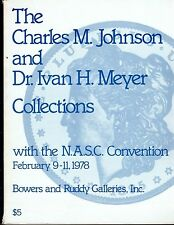 BOWERS & RUDDY  Feb 1978 Auction with the N.A.S.C. Convention GREAT REFERENCE