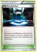 FIGHTING STADIUM 90/111 - XY FURIOUS FISTS POKEMON TRAINER CARD - IN STOCK NOW!
