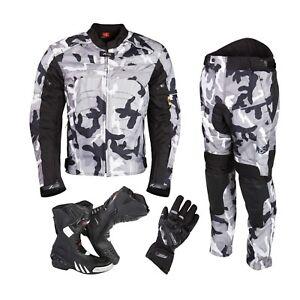 Motorbike-Textile-Suit-Motorcycle-Waterproof-Armoured-Jacket-Trouser-Winter-New