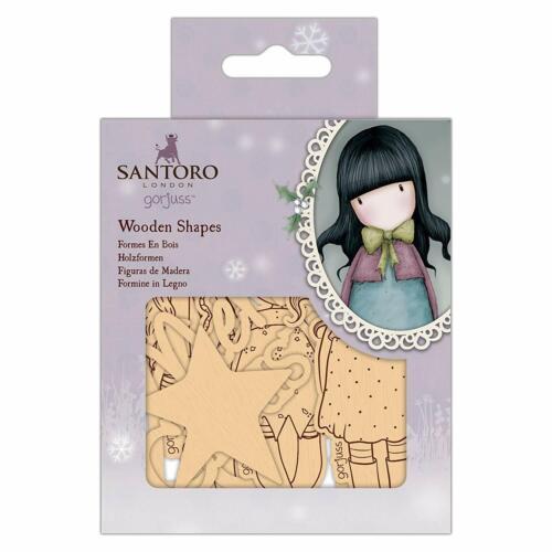 Santoro Wooden Shapes 20 Pack