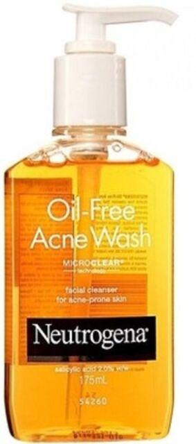 Oil Free Neutrogena Acne Face Wash (175 ml in 1 bottle) Pimples