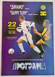 DYNAMO KIEV HOME EUROPEAN COMPS PROGRAMMES 1992-2014. All mint condition.