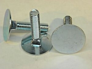 3 8 16 X 1 1 4 Elevator Bolt Zinc Plated Full Thread Carriage Nh