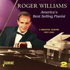 America's Best Selling Pianist - Four Original Albums 1957-1961 by Roger Williams (Piano) (CD, Nov-2012, 2 Discs, Jasmine)