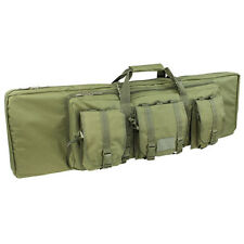 "Condor 159 46"" Double Carbine Padded Rifle Case Backpack MOLLE Pouches OD Green"