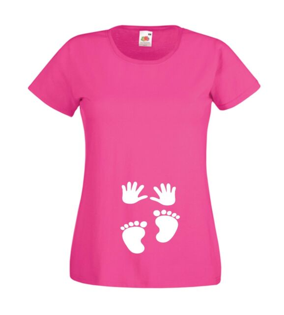 NEW BORN BABY pregnancy pregnant mothers mummys maternity top gift womens TSHIRT