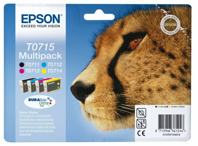 Epson Stylus SX515w Printer Ink Cartridges – Genuine T0715