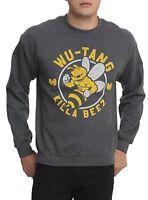 Wu-tang Clan Killa Beez Men's Pullover Sweatshirt 100% Authentic