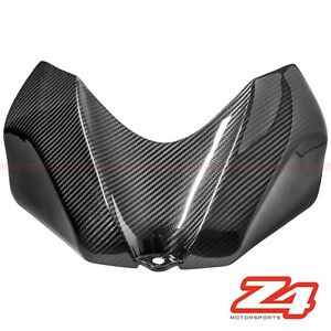 2006 2007 GSX-R 600 750 Gas Tank Front Air Box Cover Cowl Fairing Carbon Fiber