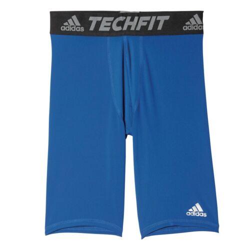 Adidas Techfit Base Breve Stretto Corto Pantaloni Funzionali Nero Bianco Blu Rot