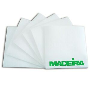 1000-x-White-Pre-Cut-Squares-Easy-Tear-40g-Madeira-Embroidery-Stabiliser-Backing