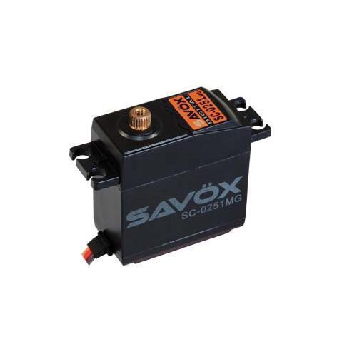 SERVO Digitale SAVOX SC-0251 16kg 0,18sec servo standard ingranaggi metallo