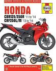Honda CBR125/250R & CRF250L/M Service and Repair Manual: 2011-2014 by Matthew Coombs (Paperback, 2014)