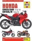 Honda CBR125/250R & CRF250L/M Service and Repair Manual: 2011-2014 by Matthew Coombs (Paperback, 2014)