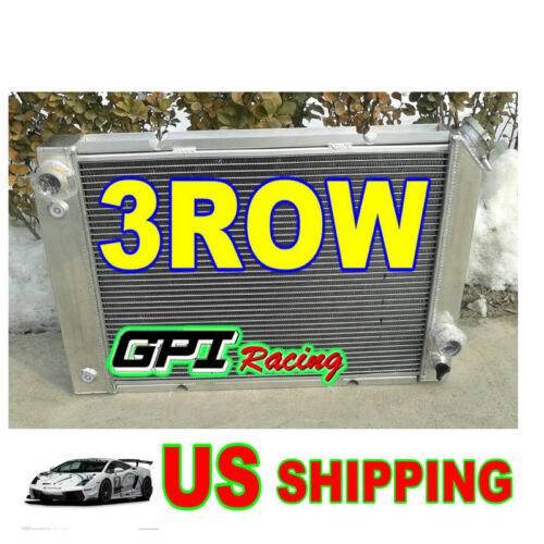 FOR 1984-1988 Pontiac Fiero 2.5L//2.8L I4//V6 1985-1987 ALUMINUM  RADIATOR