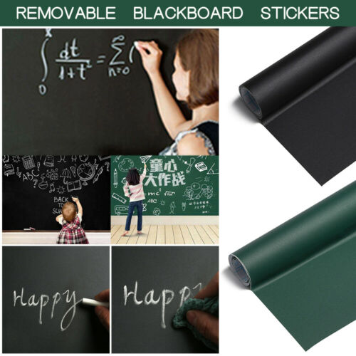 45*200CM Removable For Kids Rooms Chalk Board Blackboard Vinyl Art Draw Stickers